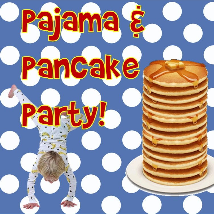Pancake clipart pajama. Pj date night community