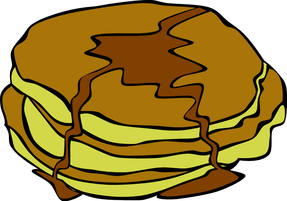 Transparent pancakes single. Free pancake cliparts download