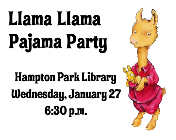 Pajama clipart red pajamas. Libraryaware hp llama party