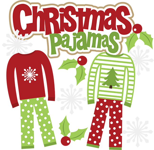 Pajama clipart red pajamas. Mamajenna says it first