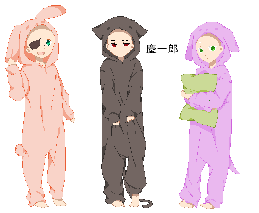 Pajama drawing anime. Animal pajamas base by