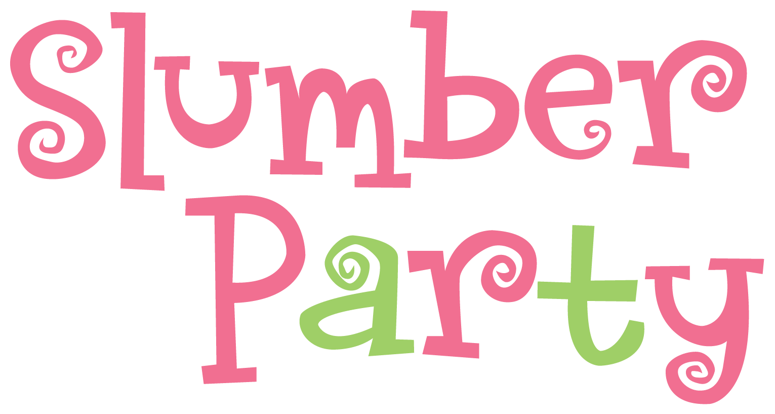 Slumber party png