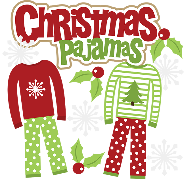 Pajamas drawing christmas. Free pictures of download