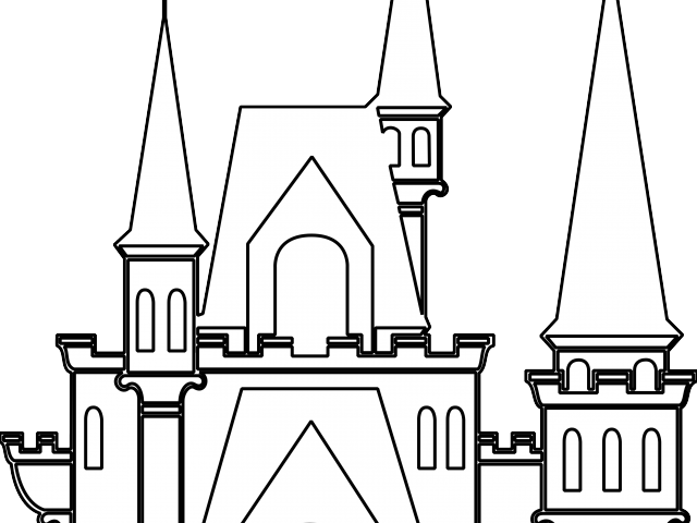 Palace clipart. Vector royalty free