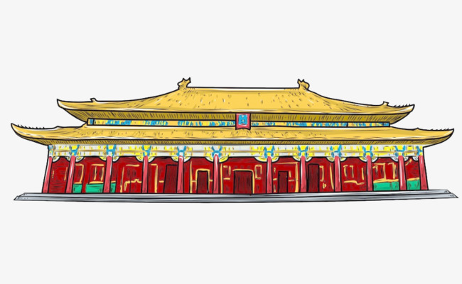Palace clipart ancient palace. Building history chinese style