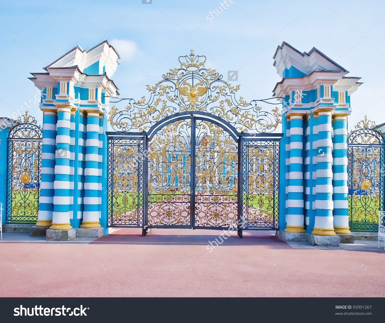 Palace clipart palace gate. Clipground golden gates catherines