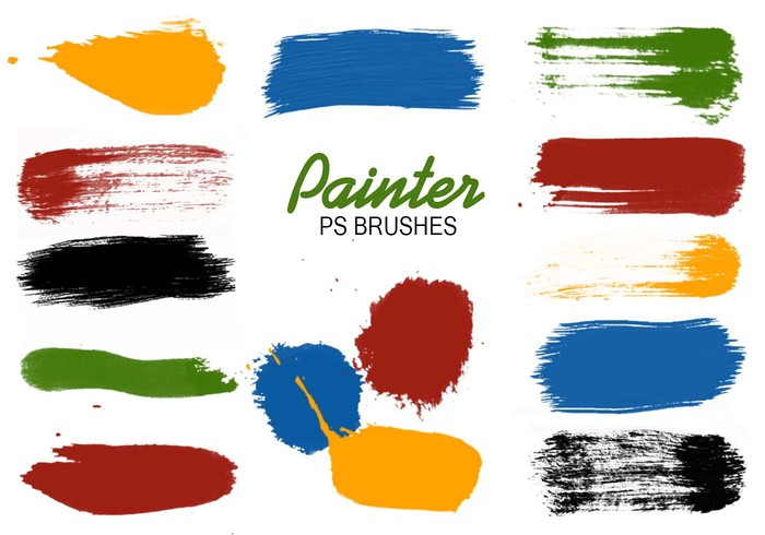 Palette clipart paint swatch. Swatches ps brushes free