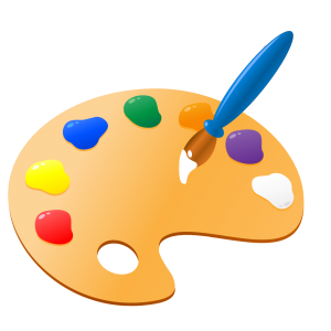 Kids painting png. Free paint palette cliparts