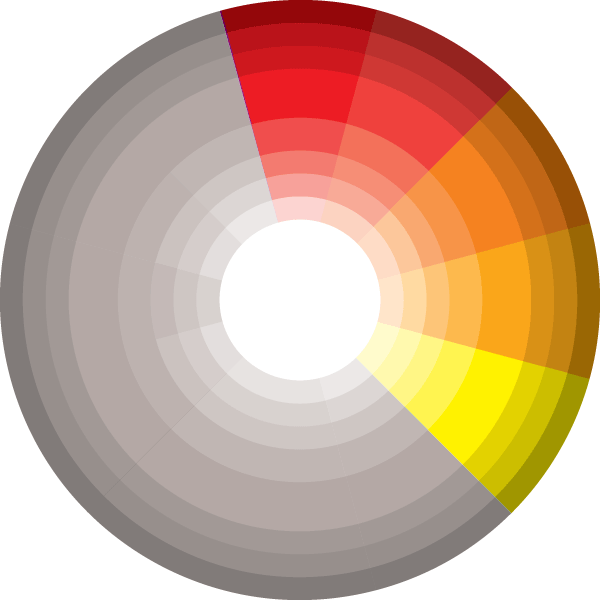 Palette vector retro color. Picking a for your