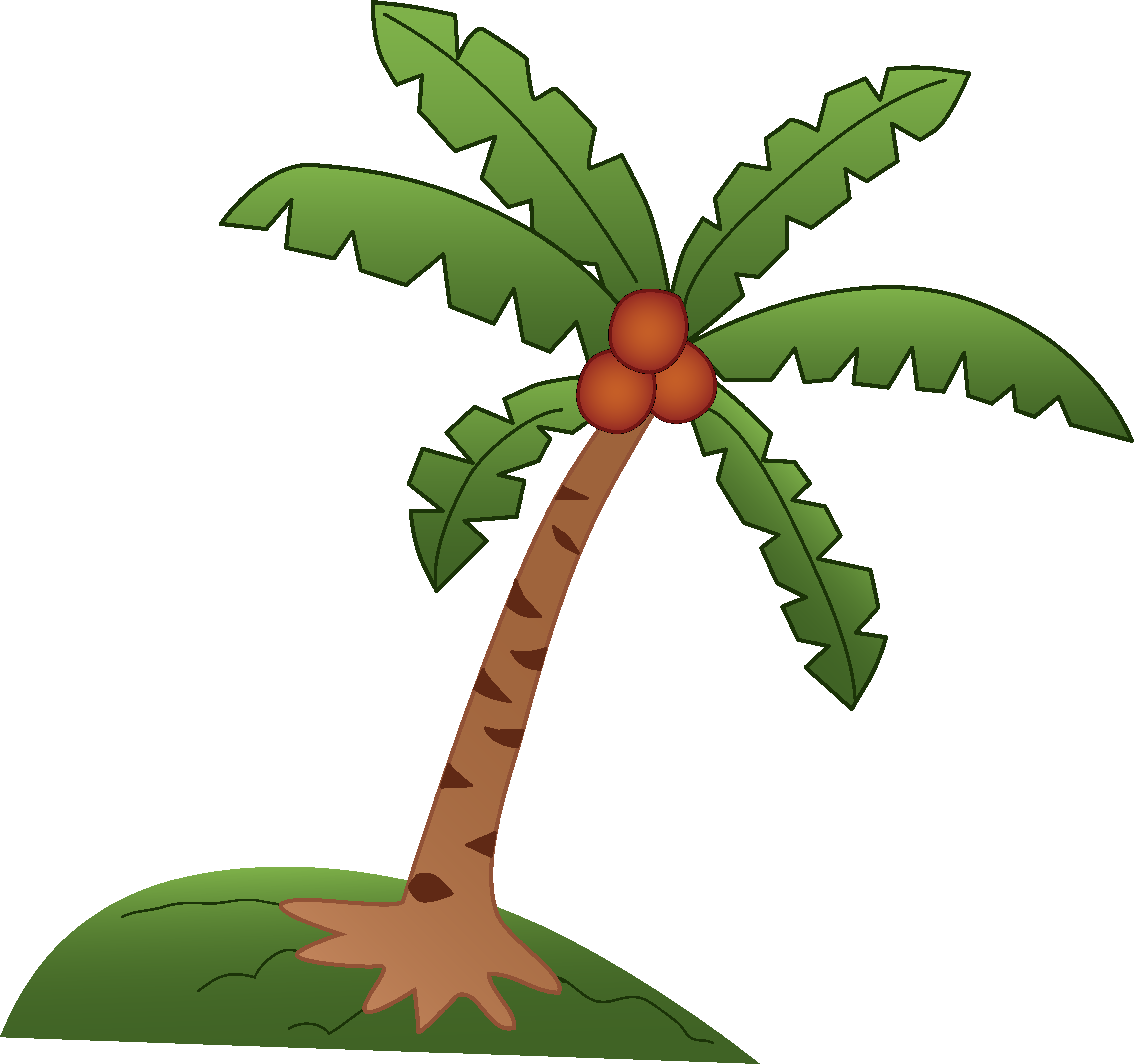 Design free clip art. Leaf clipart coconut tree clip royalty free