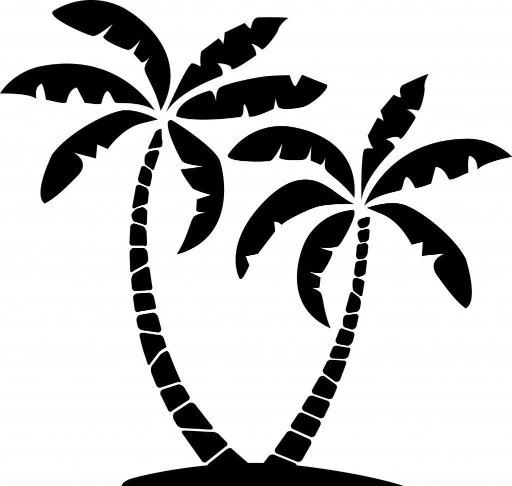 Palm clipart cool. Clip art trees