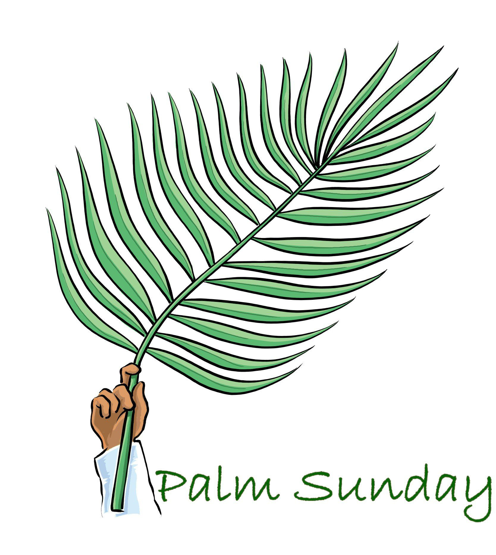 Palm clipart easter. Astounding ideas free for