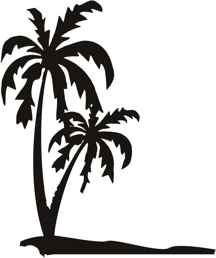 Palm clipart jpeg. Tree silhouette at getdrawings