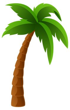 Palm clipart palm leaf. Two trees png image