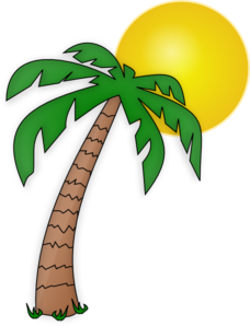 Tree clip art black. Palm clipart palm leaf graphic stock