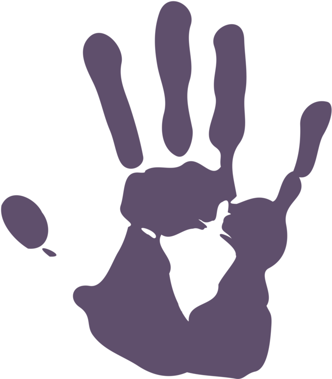 Palm print png. Download hd hand drawing
