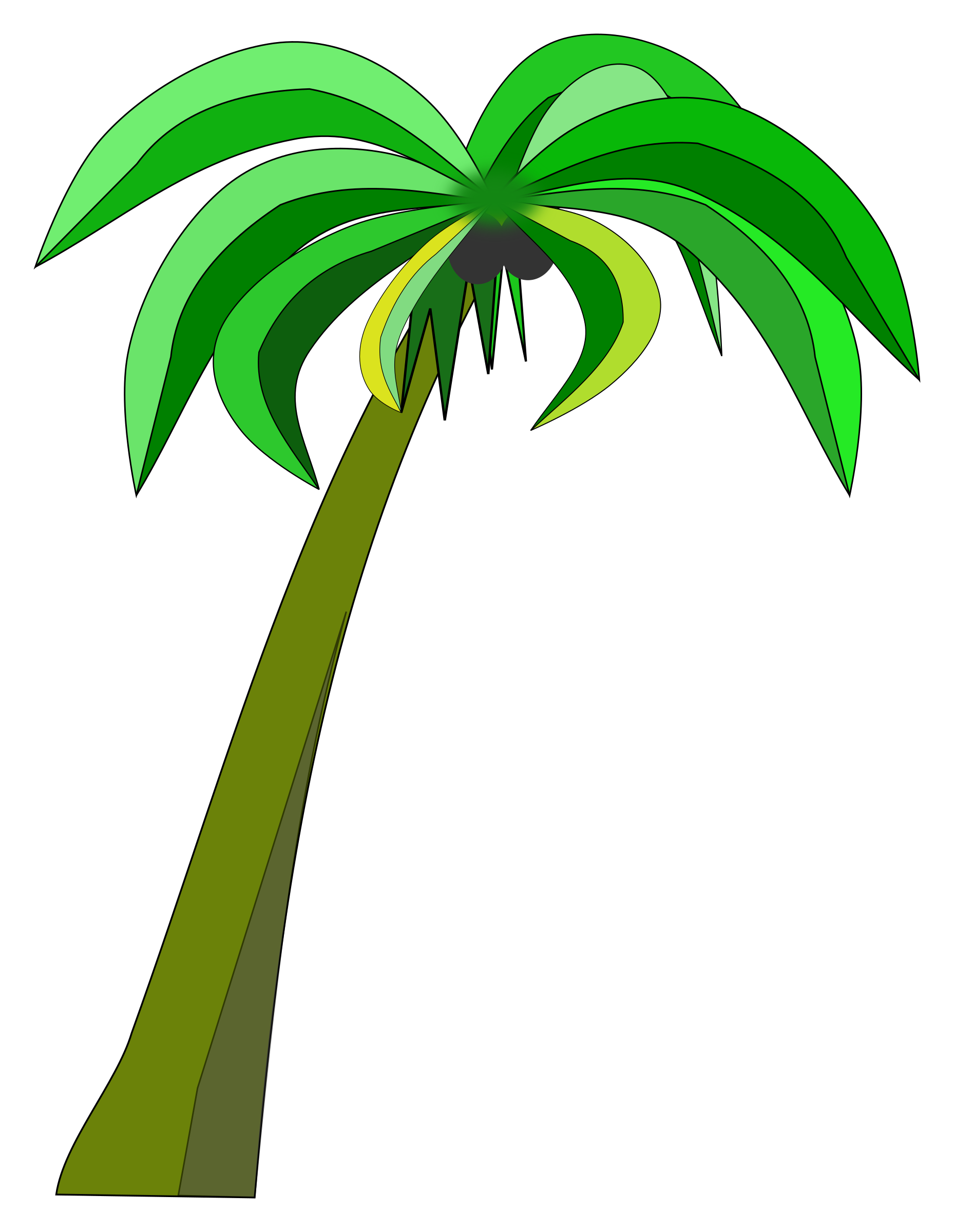 Coconut tree vector png. Palm or icons free