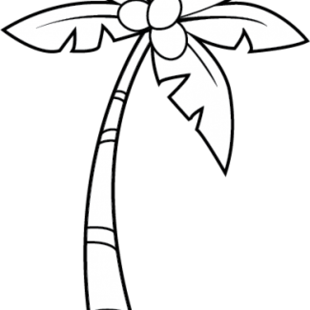 Palm tree clipart black and white png. Hatenylo com nice clip
