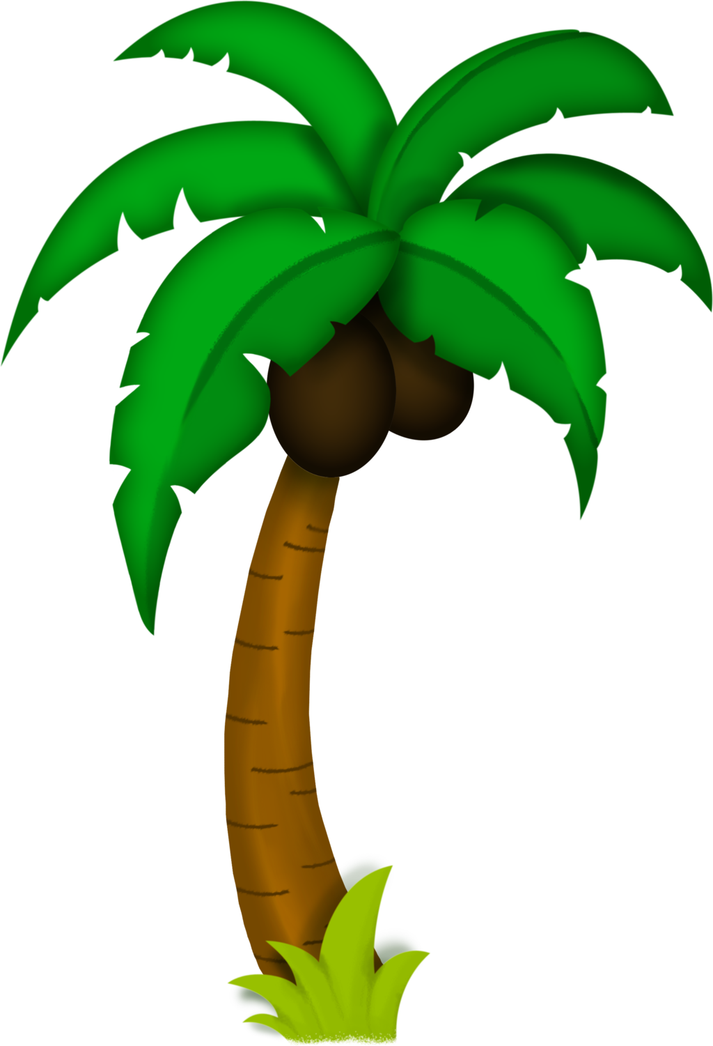 Palm tree drawing png. For game by hrtddy