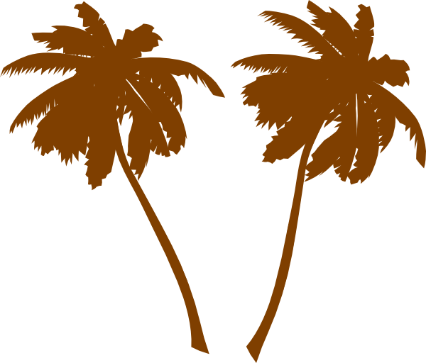 Palm tree illustration png. Silhouette clip art at