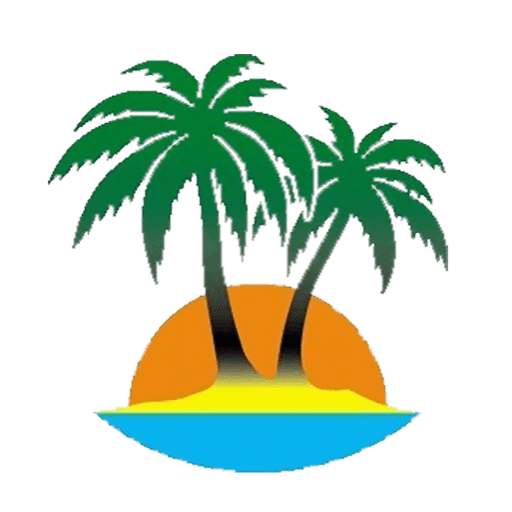 Palm tree logo png. Two trees logos