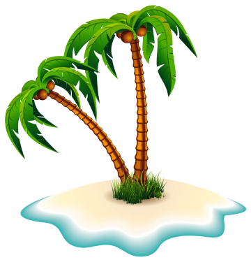 Tropical palm trees png. Tree clipart at getdrawings