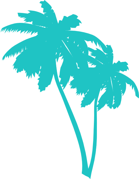 Palm trees png transparent. Tree silhouette at getdrawings