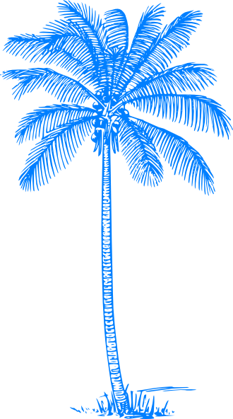 Palm vector png. Tree svg clip art