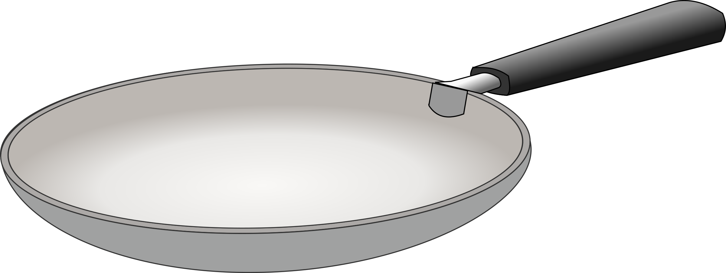 fries vector frying pan