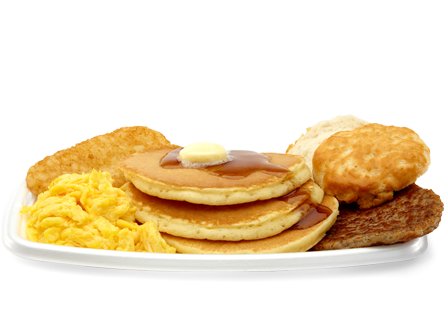Food png images. Pancake clipart big breakfast vector black and white
