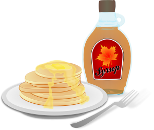 American clipart pancakes. Celebrate your with a