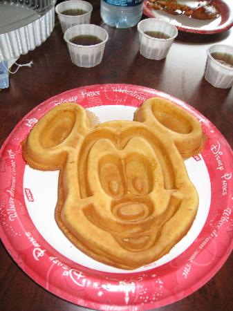 Pancake clipart breakfast disney. Mickey waffles for picture