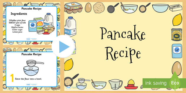 Pancake clipart pancake recipe. Powerpoint day