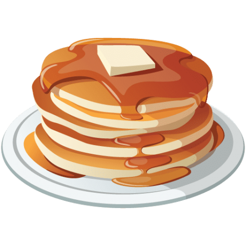 Pancake clipart png. Free images toppng transparent