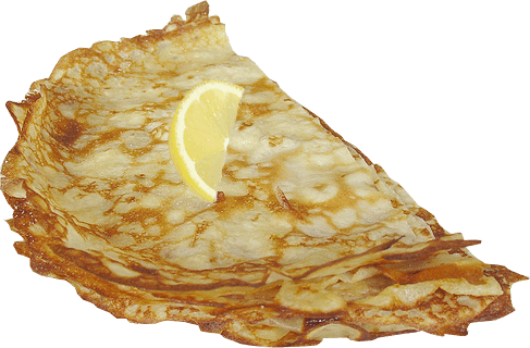 Pancakes vector background. Food clipart range of