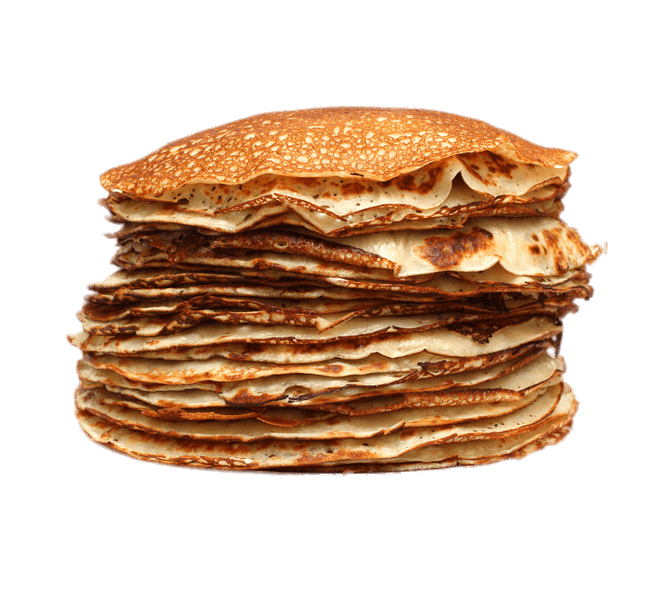 Transparent pancakes. Pancake huge stack png