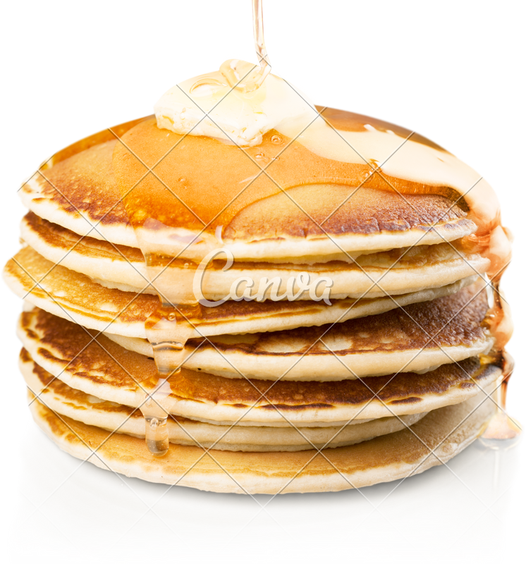 Pancake stack png. Of small pancakes in