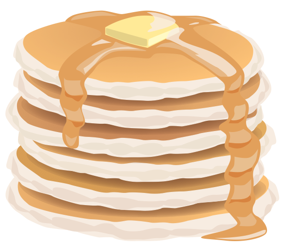 Pancake stack png. Collection of clipart