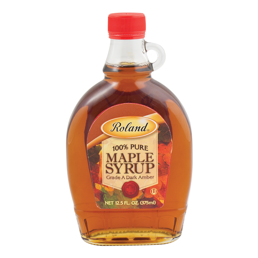 Pancake syrup png. Roland foods pure maple
