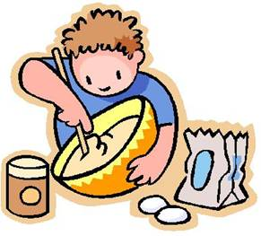 Cook clipart. Pancake cooking pencil and