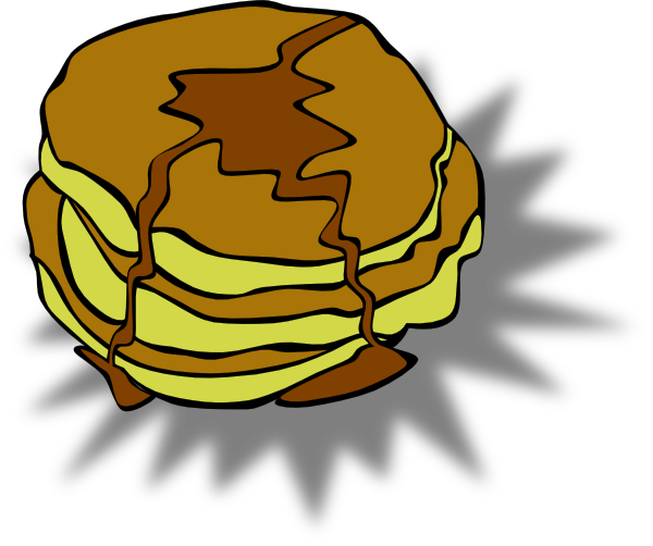 Pancakes clipart pancake supper. Free pictures download clip