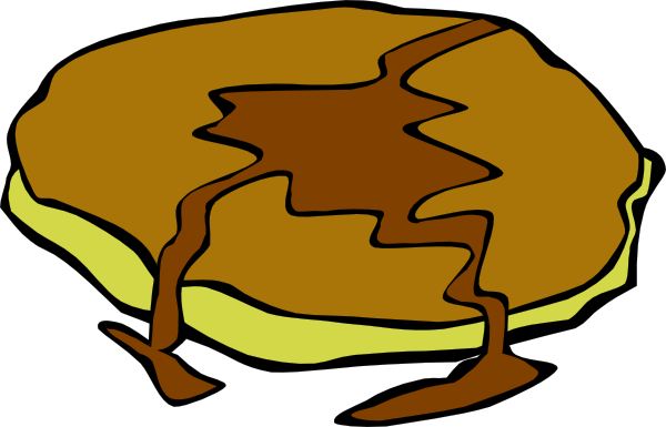 Pancakes vector animated. Pancake with syrup clip
