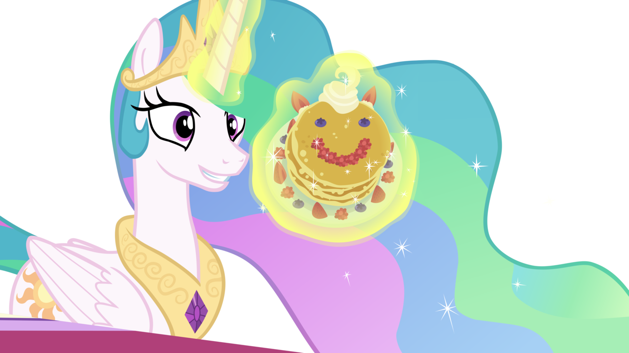 Pancakes vector cute. Alicorn a royal