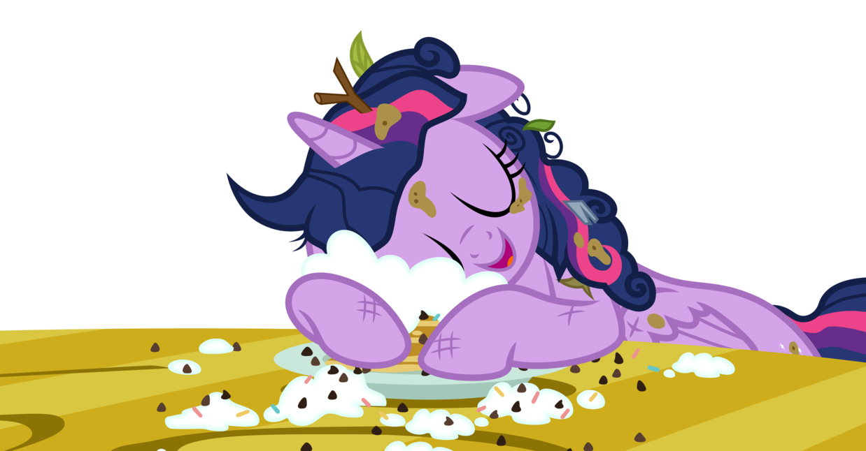 Pancakes vector animated. Twilight snuggles by jeatz