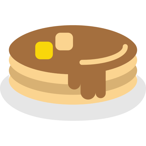 Pancakes vector svg. Png icon repo free