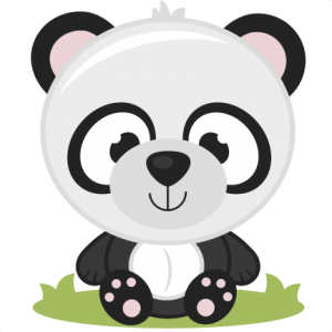 Panda clipart svg. Miss kate cuttables product