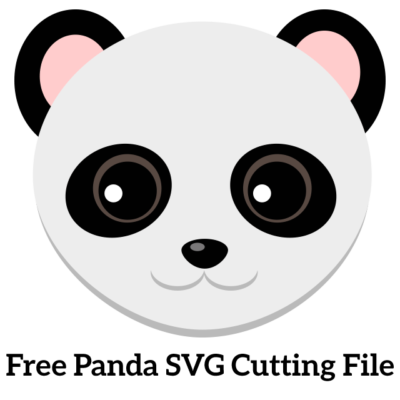 Panda clipart svg. Free cutting file for
