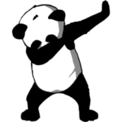 Panda dabbing png. Iphone case spreadshirt