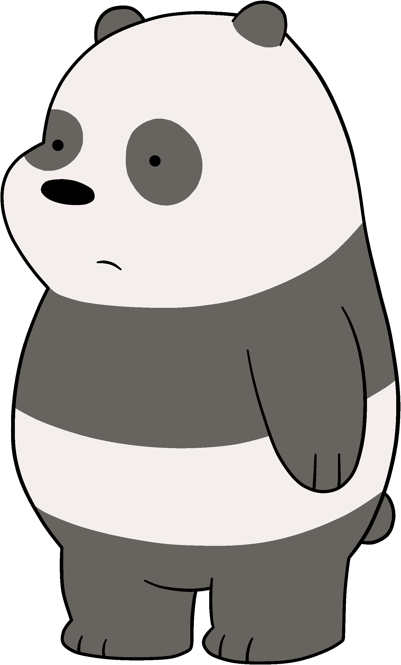 Panda dabbing png. Latest animation characters pinterest