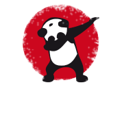 Panda dabbing png. Dab football touchdown mooving
